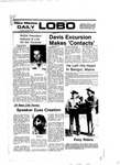 New Mexico Daily Lobo, Volume 081, No 47, 10/25/1977