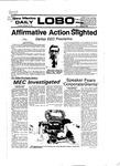 New Mexico Daily Lobo, Volume 081, No 49, 10/27/1977