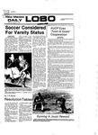 New Mexico Daily Lobo, Volume 081, No 51, 10/31/1977