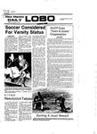 New Mexico Daily Lobo, Volume 081, No 51, 10/31/1977