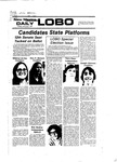 New Mexico Daily Lobo, Volume 081, No 52, 11/1/1977