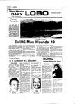 New Mexico Daily Lobo, Volume 081, No 57, 11/8/1977