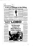 New Mexico Daily Lobo, Volume 081, No 61, 11/14/1977