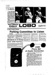 New Mexico Daily Lobo, Volume 081, No 62, 11/15/1977
