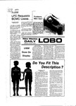New Mexico Daily Lobo, Volume 081, No 63, 11/16/1977