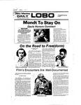 New Mexico Daily Lobo, Volume 081, No 71, 11/30/1977
