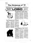New Mexico Daily Lobo, Volume 081, No 73, 12/2/1977