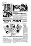 New Mexico Daily Lobo, Volume 081, No 126, 4/4/1978 by University of New Mexico