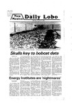 New Mexico Daily Lobo, Volume 083, No 2, 8/27/1979 by University of New Mexico