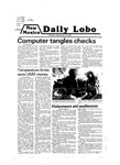 New Mexico Daily Lobo, Volume 083, No 11, 9/10/1979 by University of New Mexico