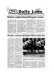 New Mexico Daily Lobo, Volume 083, No 13, 9/12/1979 by University of New Mexico