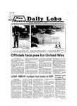 New Mexico Daily Lobo, Volume 083, No 15, 9/14/1979
