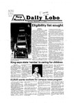 New Mexico Daily Lobo, Volume 083, No 16, 9/17/1979 by University of New Mexico