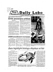 New Mexico Daily Lobo, Volume 083, No 17, 9/18/1979 by University of New Mexico