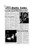 New Mexico Daily Lobo, Volume 083, No 18, 9/19/1979 by University of New Mexico