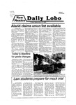 New Mexico Daily Lobo, Volume 083, No 20, 9/21/1979 by University of New Mexico