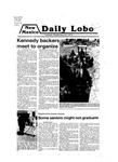 New Mexico Daily Lobo, Volume 083, No 22, 9/25/1979 by University of New Mexico