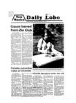 New Mexico Daily Lobo, Volume 083, No 23, 9/26/1979 by University of New Mexico