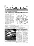 New Mexico Daily Lobo, Volume 083, No 26, 10/1/1979 by University of New Mexico