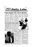 New Mexico Daily Lobo, Volume 083, No 27, 10/2/1979 by University of New Mexico