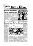 New Mexico Daily Lobo, Volume 083, No 28, 10/3/1979, Ampersand by University of New Mexico