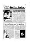 New Mexico Daily Lobo, Volume 083, No 32, 10/9/1979, Ampersand