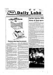 New Mexico Daily Lobo, Volume 083, No 35, 10/12/1979
