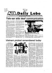 New Mexico Daily Lobo, Volume 083, No 36, 10/15/1979