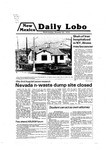 New Mexico Daily Lobo, Volume 083, No 43, 10/24/1979