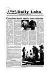 New Mexico Daily Lobo, Volume 083, No 46, 10/29/1979
