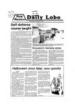 New Mexico Daily Lobo, Volume 083, No 48, 10/31/1979