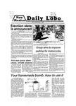 New Mexico Daily Lobo, Volume 083, No 50, 11/2/1979
