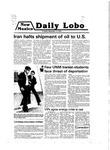 New Mexico Daily Lobo, Volume 083, No 57, 11/13/1979