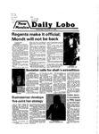 New Mexico Daily Lobo, Volume 083, No 63, 11/21/1979