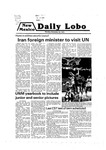 New Mexico Daily Lobo, Volume 083, No 64, 11/26/1979