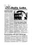 New Mexico Daily Lobo, Volume 083, No 65, 11/27/1979