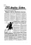 New Mexico Daily Lobo, Volume 083, No 70, 12/4/1979