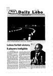 New Mexico Daily Lobo, Volume 083, No 73, 12/7/1979
