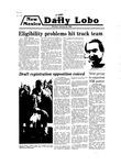 New Mexico Daily Lobo, Volume 083, No 82, 1/28/1980
