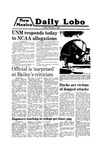 New Mexico Daily Lobo, Volume 083, No 86, 2/1/1980 by University of New Mexico