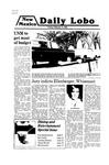 New Mexico Daily Lobo, Volume 083, No 96, 2/15/1980 by University of New Mexico