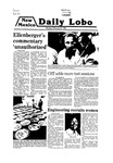 New Mexico Daily Lobo, Volume 083, No 102, 2/25/1980