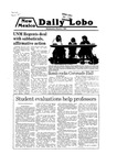 New Mexico Daily Lobo, Volume 083, No 109, 3/5/1980 by University of New Mexico