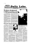 New Mexico Daily Lobo, Volume 083, No 111, 3/7/1980 by University of New Mexico