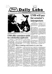 New Mexico Daily Lobo, Volume 083, No 112, 3/10/1980 by University of New Mexico