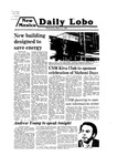 New Mexico Daily Lobo, Volume 083, No 114, 3/12/1980 by University of New Mexico