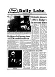 New Mexico Daily Lobo, Volume 083, No 115, 3/13/1980 by University of New Mexico