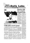 New Mexico Daily Lobo, Volume 083, No 117, 3/24/1980 by University of New Mexico