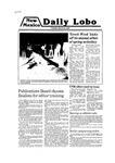 New Mexico Daily Lobo, Volume 083, No 118, 3/25/1980 by University of New Mexico