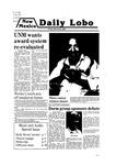 New Mexico Daily Lobo, Volume 083, No 121, 3/28/1980